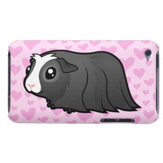 Amor del conejillo de Indias pelo largo iPod Case-Mate Protector
