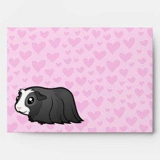 Amor del conejillo de Indias (pelo largo) Sobres