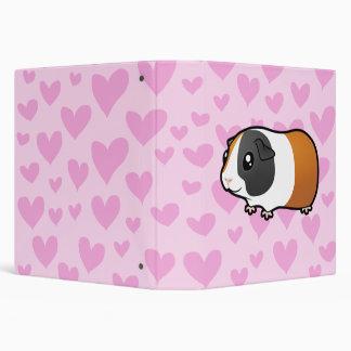 """Amor del conejillo de Indias (pelo liso) Carpeta 1 1/2"""""""