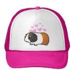Amor del conejillo de Indias (pelo liso) Gorras De Camionero