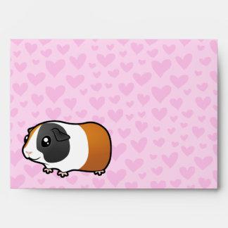 Amor del conejillo de Indias (pelo liso) Sobres