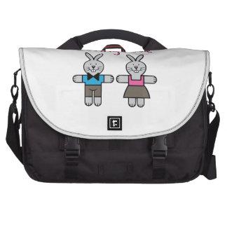 Amor del conejito bolsas de portatil