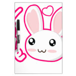 Amor del conejito - conejitos Chibi del conejo lin Pizarras