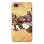 Amor del conejito iPhone 4 cárcasas