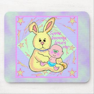Amor del conejito tapete de raton