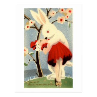 Amor del conejito postales