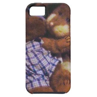 Amor del conejito y del oso iPhone 5 carcasas