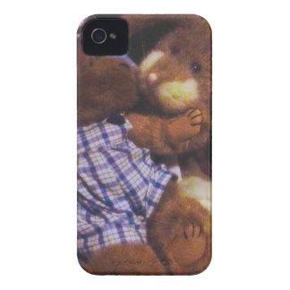 Amor del conejito y del oso iPhone 4 carcasa