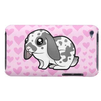 Amor del conejo (pelo liso del oído flojo) iPod touch carcasa