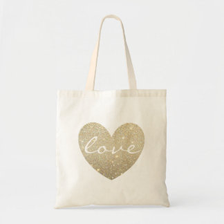 Amor del corazón de la bolsa de asas el |