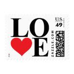 Amor del corazón sellos