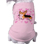 Amor del Corgi Galés del Pembroke Camisetas De Perrito