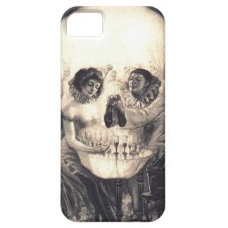 Amor del cráneo, caso del iPhone 5 de la ilusión Funda Para iPhone 5 Barely There