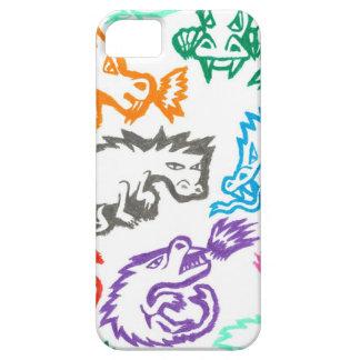 Amor del creyón: Dragones Funda Para iPhone SE/5/5s