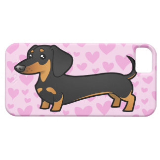 Amor del Dachshund (capa lisa) iPhone 5 Fundas