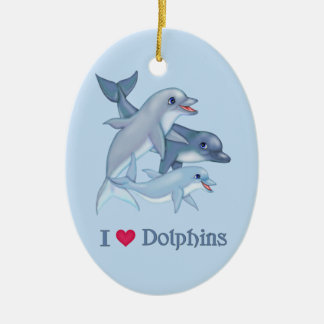 Amor del delfín ornamentos de reyes magos