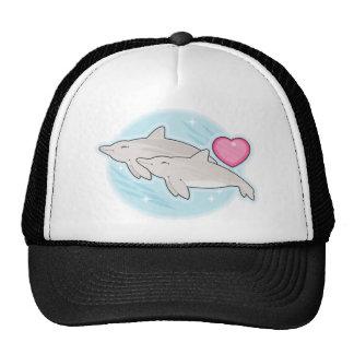 amor del delfín gorro