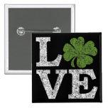 AMOR del día del St Patricks con el trébol Pin