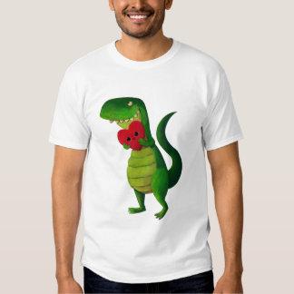 Amor del dinosaurio de RAWR Camisas