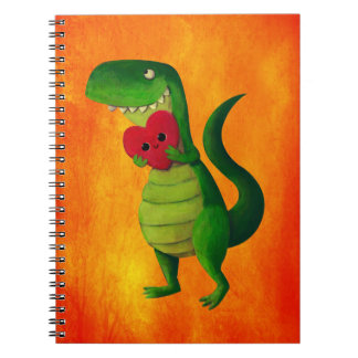 Amor del dinosaurio de RAWR Cuaderno