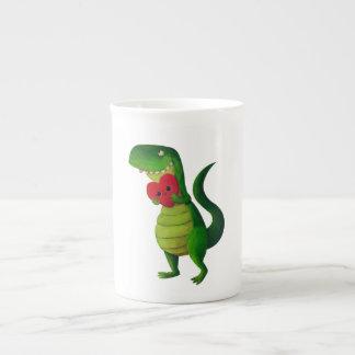 Amor del dinosaurio de RAWR Taza De Té
