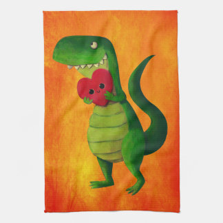 Amor del dinosaurio de RAWR Toalla