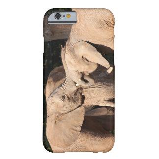 Amor del elefante funda de iPhone 6 barely there