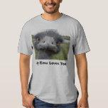 Amor del Emu Remeras