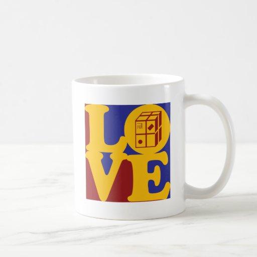 Amor del envío taza