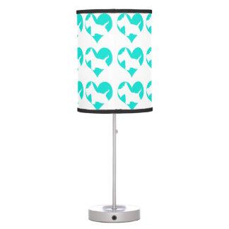 Amor del escocés lámpara de escritorio