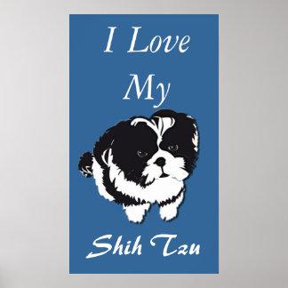 Amor del extracto I del poster de Shih Tzu mi