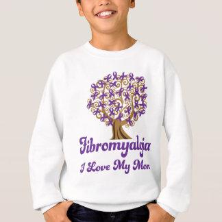 Amor del Fibromyalgia I mi mamá Sudadera