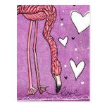 amor del flamenco tarjetas postales