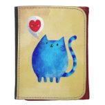 Amor del gato azul del gatito