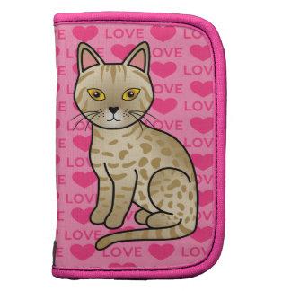 Amor del gato de Ocicat del cervatillo Organizador