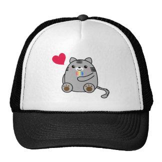 Amor del gato gorro