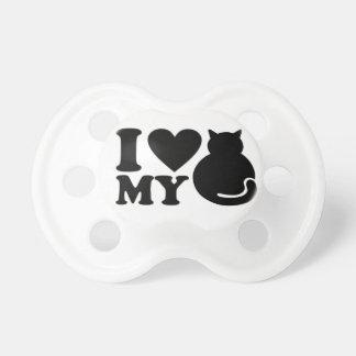 Amor del gato - unisex chupetes para bebés