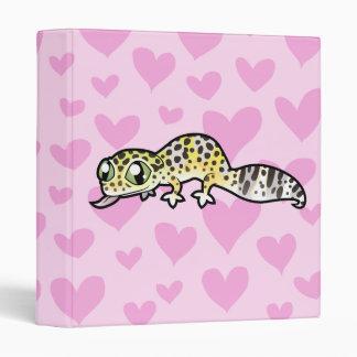 "Amor del Gecko del leopardo Carpeta 1"""