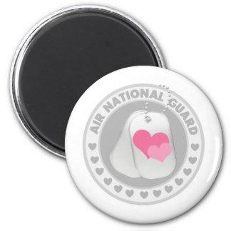 Amor del Guardia Nacional del aire Imanes De Nevera