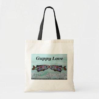 Amor del Guppy Bolsa