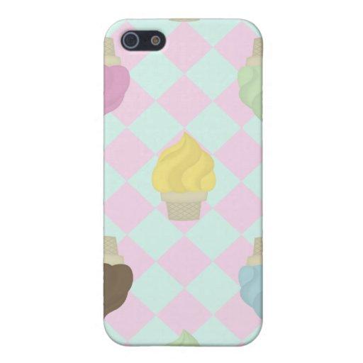 Amor del helado iPhone 5 cobertura