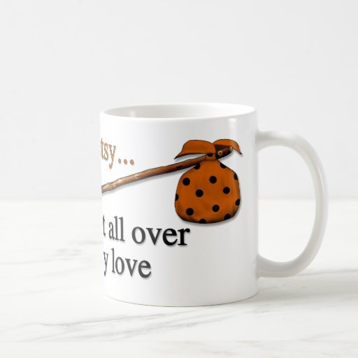 Amor del hobo tazas de café