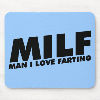 Amor del hombre I de MILF Farting Mousepad
