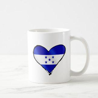 Amor del Honduran - regalos de la bandera de Hondu Tazas