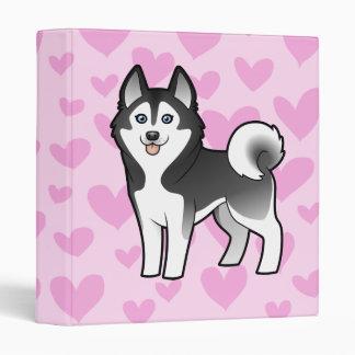 "Amor del husky siberiano/del Malamute de Alaska Carpeta 1"""
