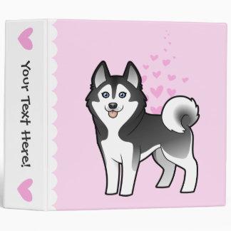 "Amor del husky siberiano/del Malamute de Alaska Carpeta 2"""