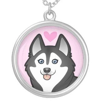 Amor del husky siberiano/del Malamute de Alaska Joyerías