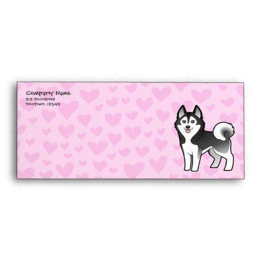 Amor del husky siberiano/del Malamute de Alaska Sobres
