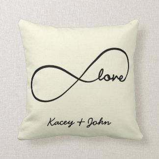 Amor del infinito almohada