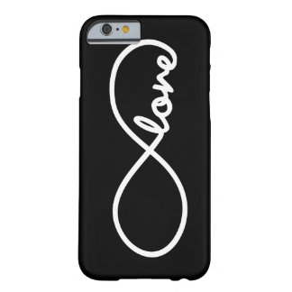 amor del infinito funda de iPhone 6 barely there